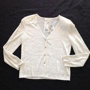 Escada Knit Cardigan Sweater NWT